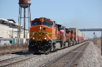 BNSF 4074, 648, 7416 & 7624